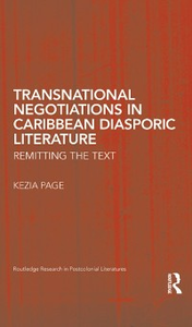 Ebook in inglese Transnational Negotiations in Caribbean Diasporic Literature Page, Kezia