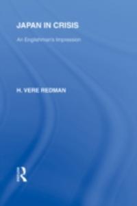 Ebook in inglese Japan in Crisis Redman, Hugh Vere
