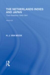 Ebook in inglese Netherlands, Indies and Japan Mook, H  J van