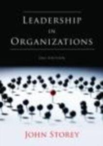 Ebook in inglese Leadership in Organizations -, -