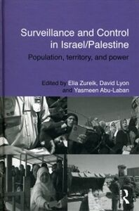 Ebook in inglese Surveillance and Control in Israel/Palestine -, -