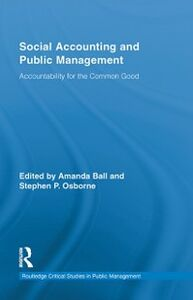 Ebook in inglese Social Accounting and Public Management -, -
