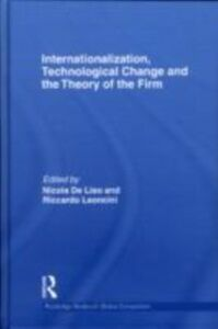 Ebook in inglese Internationalization, Technological Change and the Theory of the Firm