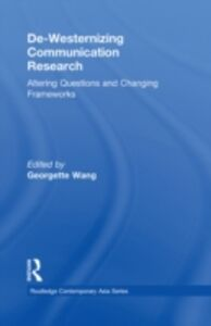Foto Cover di De-Westernizing Communication Research, Ebook inglese di  edito da