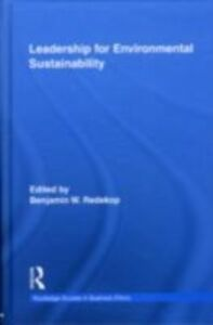 Ebook in inglese Leadership for Environmental Sustainability -, -