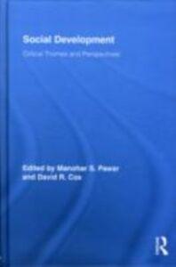 Ebook in inglese Social Development -, -