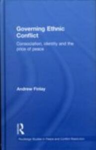 Ebook in inglese Governing Ethnic Conflict Finlay, Andrew