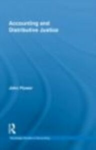 Foto Cover di Accounting and Distributive Justice, Ebook inglese di John Flower, edito da