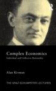 Ebook in inglese Complex Economics Kirman, Alan
