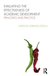 Ebook in inglese Evaluating the Effectiveness of Academic Development -, -