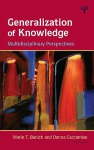 Ebook in inglese Generalization of Knowledge -, -