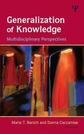 Generalization of Knowledge