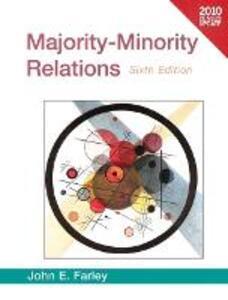 Majority-Minority Relations Census Update - John E. Farley - cover