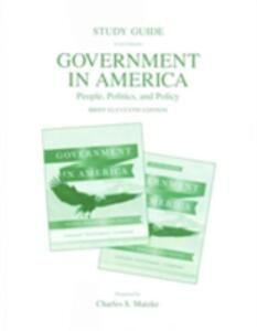 Study Guide for Government in America: People, Politics, and Policy,  Brief Edition (Standard and Study Edition) - George C. Edwards,Martin Wattenberg,Robert L. Lineberry - cover