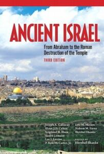 Ancient Israel - Hershel Shanks - cover