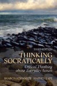Thinking Socratically - Sharon Schwarze,Harvey Lape - cover