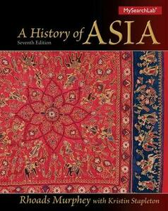 A History of Asia - Rhoads Murphey - cover