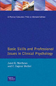 Basic Skills and Professional Issues in Clinical Psychology - cover