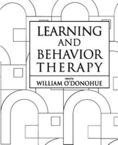Learning and Behavior Therapy - William T. O'Donohue - cover