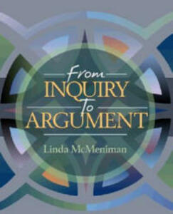 From Inquiry to Argument - Linda McMeniman - cover