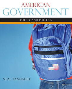 American Government - Neal Tannahill - cover