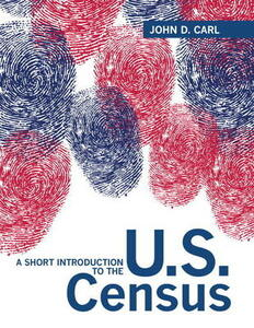 A Short Introduction to the U.S. Census - John D. Carl - cover