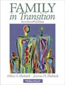Family in Transition - Arlene S. Skolnick,Jerome H. Skolnick - cover