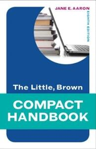 The Little, Brown Compact Handbook - Jane E. Aaron - cover