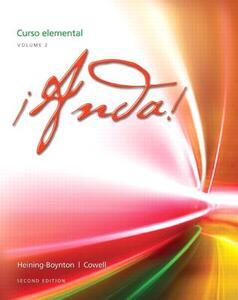 !Anda! Curso elemental, Volume 2 - Audrey L. Heining-Boynton,Glynis S. Cowell - cover