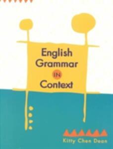 English Grammar in Context - Dean - cover