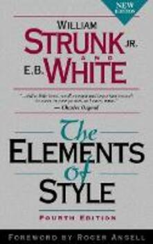 The Elements of Style - William Strunk,E. B. White - cover