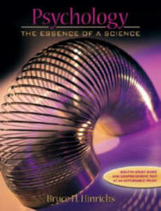 Psychology: The Essence of a Science - Bruce H. Hinrichs - cover
