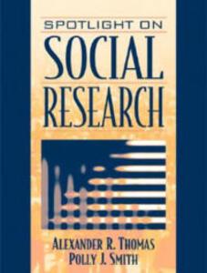 Spotlight on Social Research - Polly J. Smith - cover