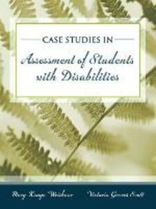 Cases in Special Education Assessment - Mary Konya Weishaar,Victoria Groves Scott - cover