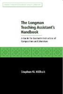 Longman Teaching Assistant's Handbook - Stephen Wilhoit - cover