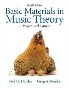 Basic Materials in Music Theory: A Programed Approach with Audio CD - Greg A. Steinke,Paul O. Harder - cover