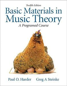 Basic Materials in Music Theory: A Programmed Approach - Greg A. Steinke,Paul O. Harder - cover