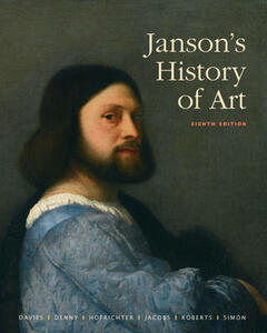 Janson's History of Art: The Western Tradition - Penelope J. E. Davies,Walter B. Denny,Frima Fox Hofrichter - cover