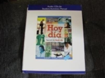 Audio CDs for Student Activities Manual for Hoy dia: Spanish for Real Life, Volume 1 - John T. McMinn,Nuria Alonso Garcia - cover