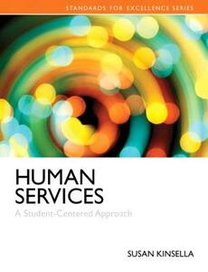 Human Services: A Student-Centered Approach - Susan Kinsella - cover
