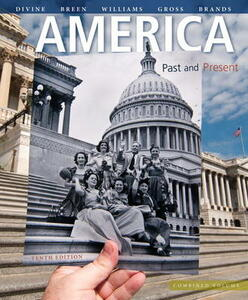 America: Past and Present, Combined Volume - Robert A. Divine,T. H. Breen,R. Hal Williams - cover