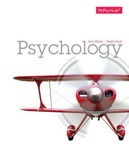 Psychology Plus New MyPsychLab with Etext - Access Card Package - Amy Marin,Roger R. Hock - cover