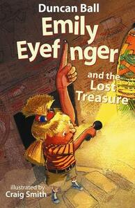 Emily Eyefinger and the Lost Treasure - Duncan Ball - cover