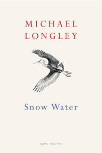Snow Water - Michael Longley - cover