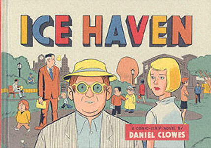 Ice Haven - Daniel Clowes - cover