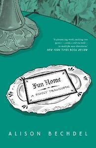 Fun Home: A Family Tragicomic - Alison Bechdel - cover