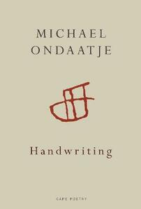 Handwriting - Michael Ondaatje - cover