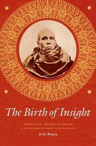 The Birth of Insight: Meditation, Modern Buddhism, and the Burmese Monk Ledi Sayadaw - Erik Braun - cover