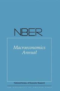 NBER Macroeconomics Annual - cover