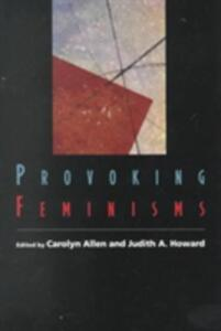 Provoking Feminisms - cover